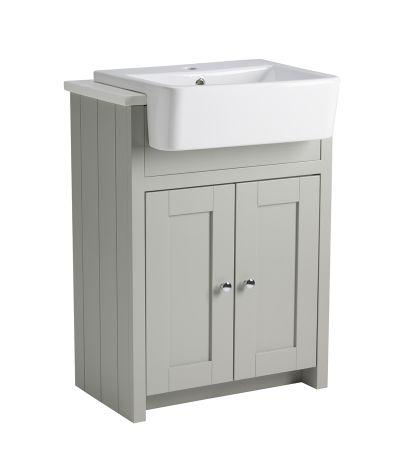 Lansdown 600 Semi-Countertop - Pebble Grey