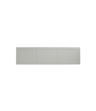 Lansdown 1700mm side panel - pebble grey