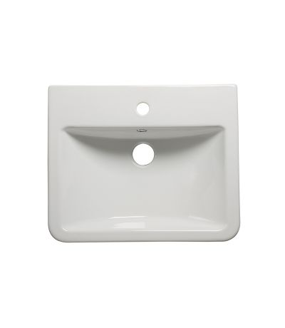 Agenda Semi-countertop standard depth basin