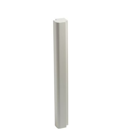 Lansdown corner post - linen white