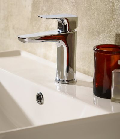 Signal Basin Mixer with Click Waste