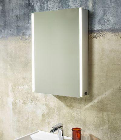 Sleek Single Mirror Door Cabinet - Tavistock Bathrooms