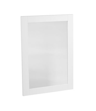 Vitoria Wooden Mirror - Linen White