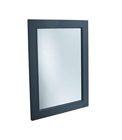 Vitoria Wooden Mirror - Matt Dark Grey
