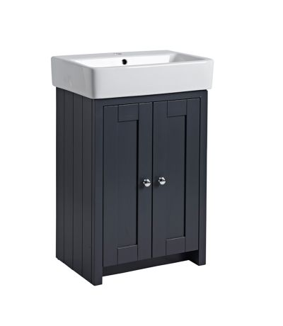 Lansdown 550 Freestanding Unit - Matt Dark Grey