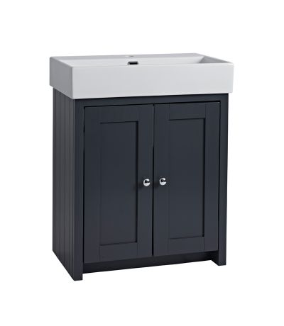 Lansdown 700 Freestanding Unit - Matt Dark Grey