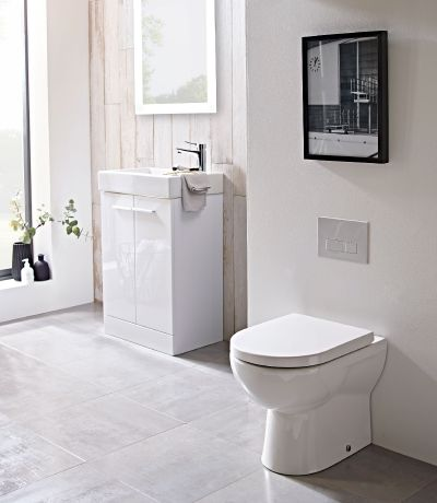 Ion Comfort Height Back to Wall WC