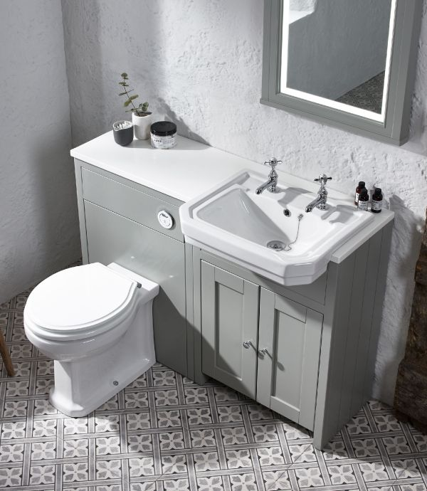 Vitoria Semi Countertop Basin 2 Tap Hole Tavistock