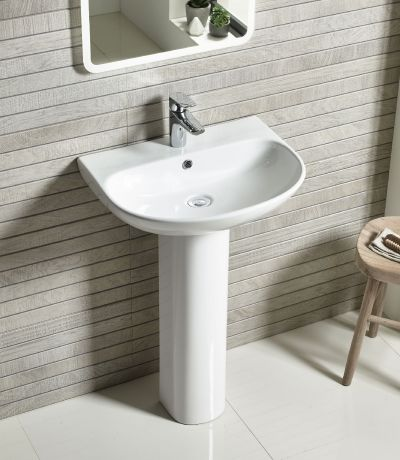 Orbit 550mm Basin and Pedestal