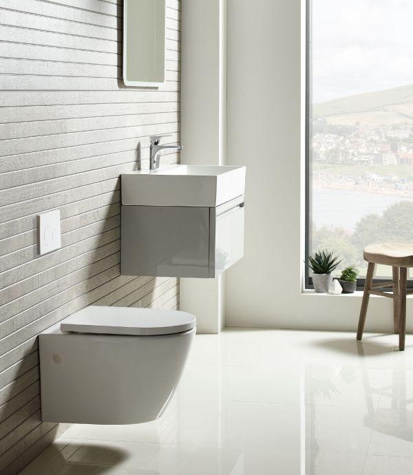 Orbit Wall Hung WC - Tavistock Bathrooms