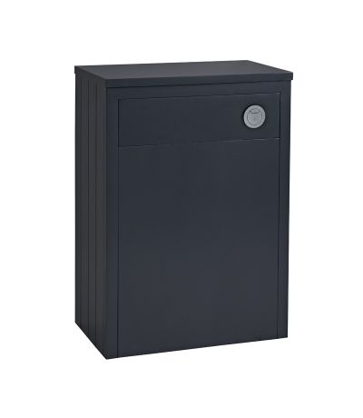 Lansdown 600 Back To Wall Unit - Matt Dark Grey
