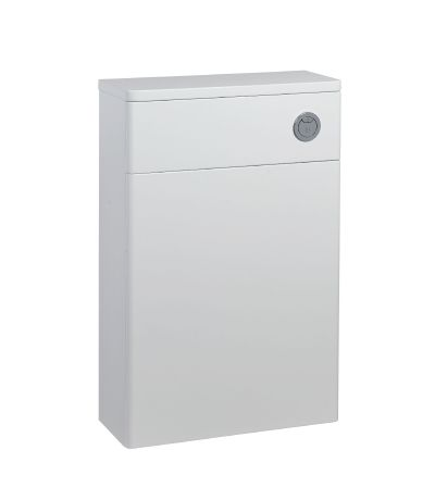 Compass Back to wall WC Unit and Worktop - Gloss white