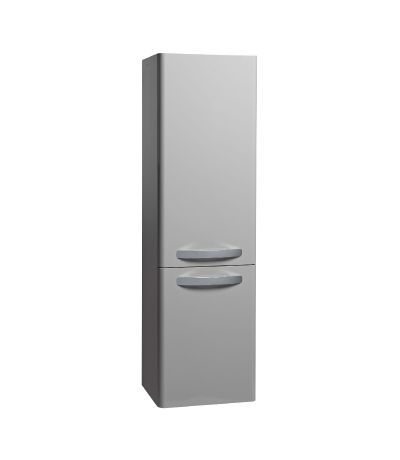 Compass Storage Column - Gloss Light Grey