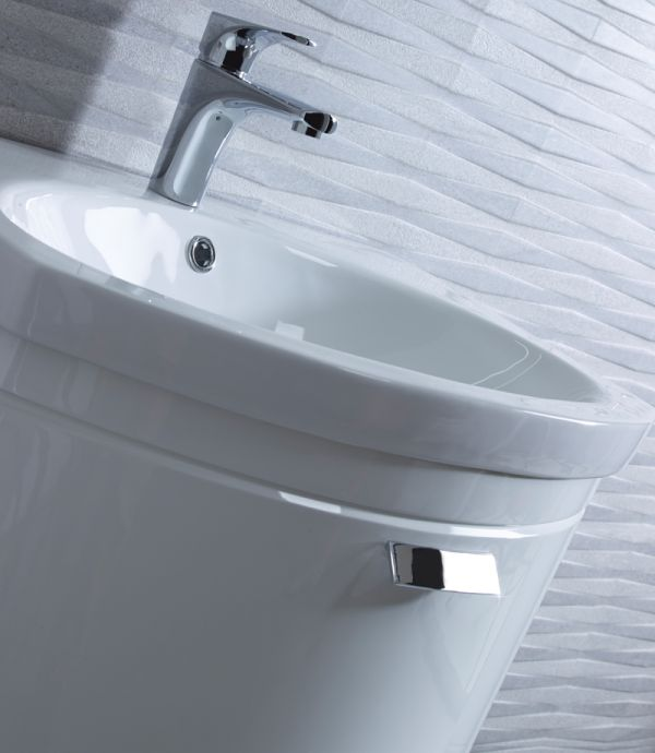 Tempo 500mm Freestanding Unit Gloss White - Tavistock Bathrooms