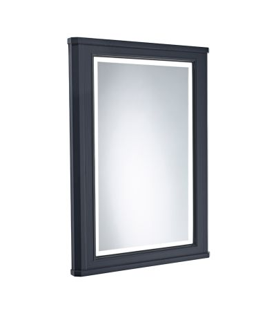 Lansdown 600mm Illuminated Mirror - Matt Dark Grey