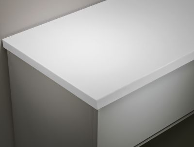 Arctic White 1280mm Solid Surface Worktop