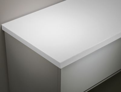 Arctic White 1880mm Solid Surface Worktop