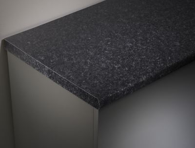 Black Granite 2000mm Laminate Wotktop