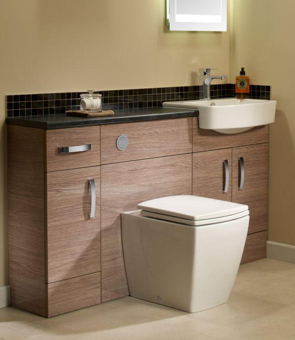 Slate 600mm Slimline Worktop Tavistock Bathrooms