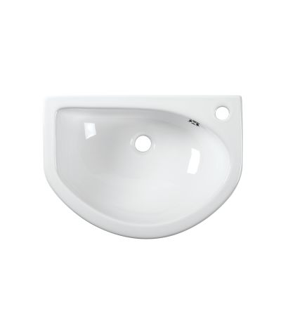 Micra 540mm Slim Depth Semi-Countertop Basin