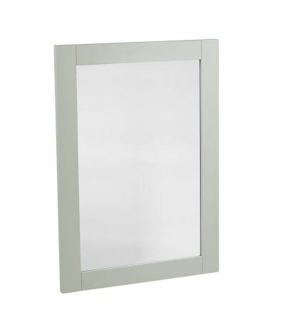 Vitoria Wooden Mirror -Pebble Grey