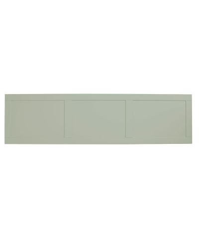 Vitoria 1700mm bath panel - pebble grey