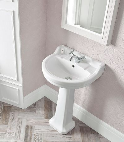 Vitoria 550mm Round basin - 1 tap hole