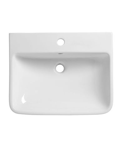 Structure 550mm Semi-countertop standard Depth Basin