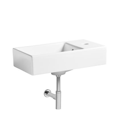 Blend wall hung basin
