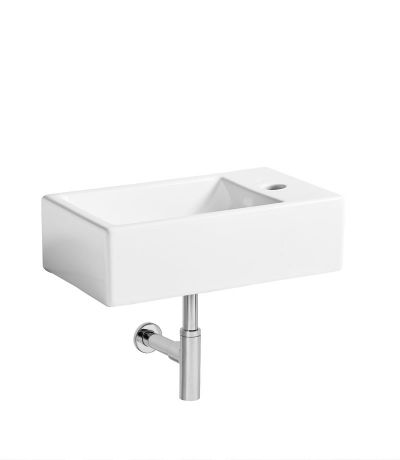 Matrix right hand wall hung basin