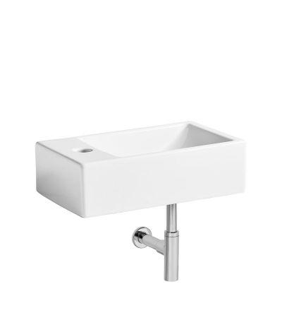 Matrix left handed wall hung basin
