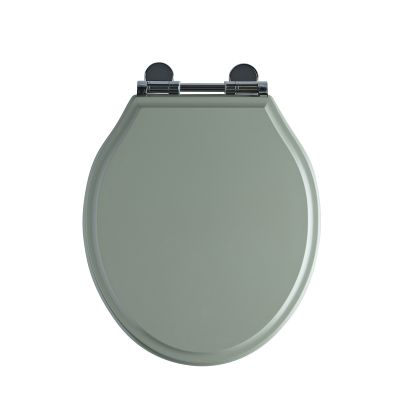 Wooden Toilet Seat Pebble Grey