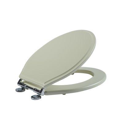 Wooden Toilet Seat - Linen White