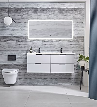 Cadence 1200 Wall Mounted Unit White