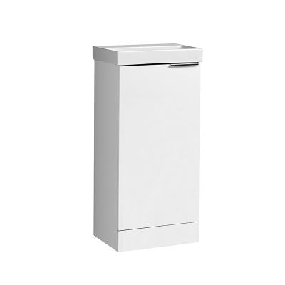 Cadence 400 Cloakroom Unit Gloss White