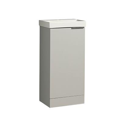 Cadence 400 Cloakroom Unit Gloss Light Grey