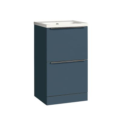 Cadence 500 Floor Mounted Unit Oxford Blue