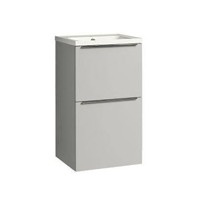 Cadence 500 Floor Mounted Unit Gloss Light Grey