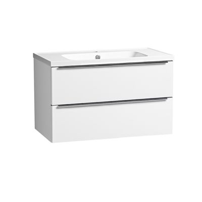 Cadence 800 Wall Mounted Unit Gloss White