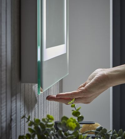 Convey 600mm Illuminated Mirror