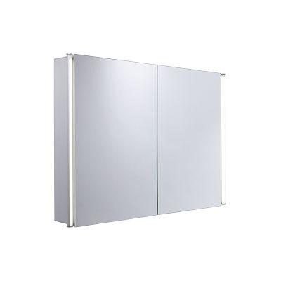 Sleek Large Double Door Cabinet