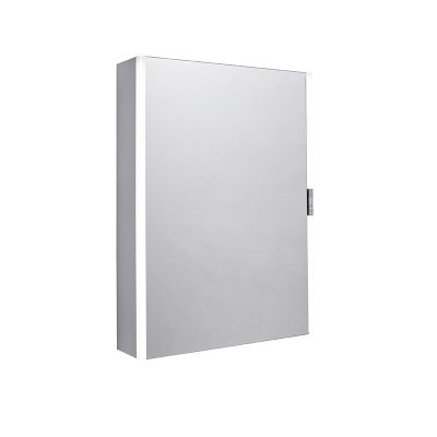 Slide Single Door Illuminated Cabinet