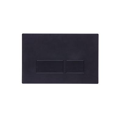 Square Flush Plate - Black