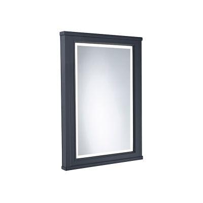 Lansdown 450mm Framed Illuminated Mirror- Matt Dark Grey