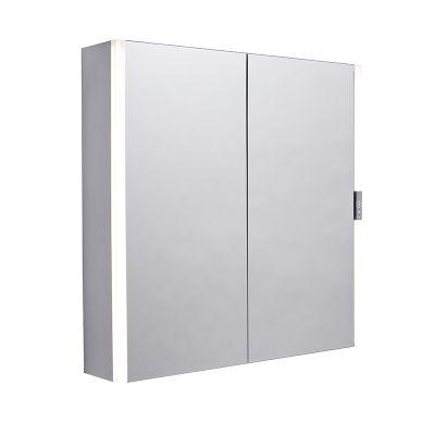 Slide Double Door Illuminated Cabinet