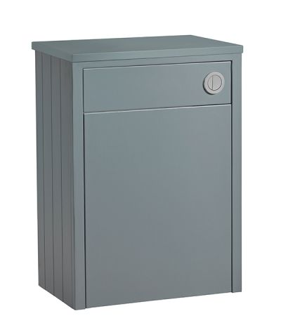Lansdown 600 Back To Wall Unit - Mineral Blue