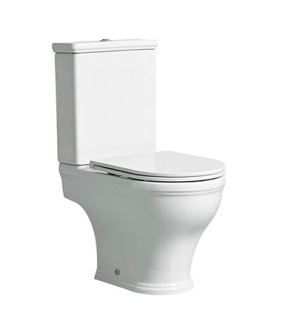 Lansdown Short Projection Open Back Close Coupled WC