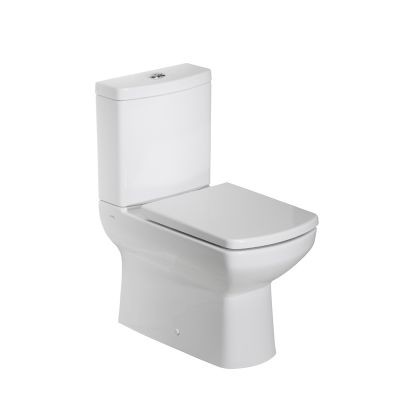 Vibe Flush Fitting Pan, Cistern & Toilet Seat
