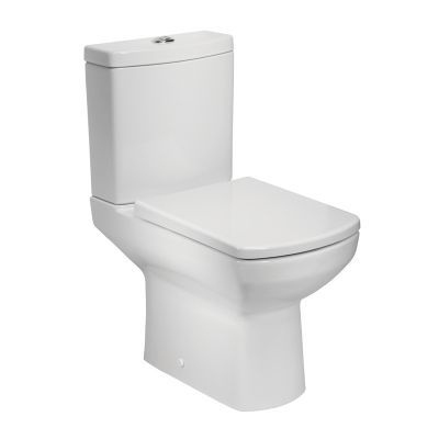 Vibe Open Back Pan, Cistern & Toilet Seat