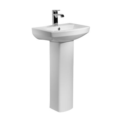 Vibe 460mm Ceramic Basin & Pedestal